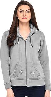 Fasnoya Women Hooded Fleece Sweatshirt - Many Color Options