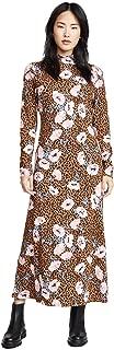 Women's Retro Romance Midi Dress