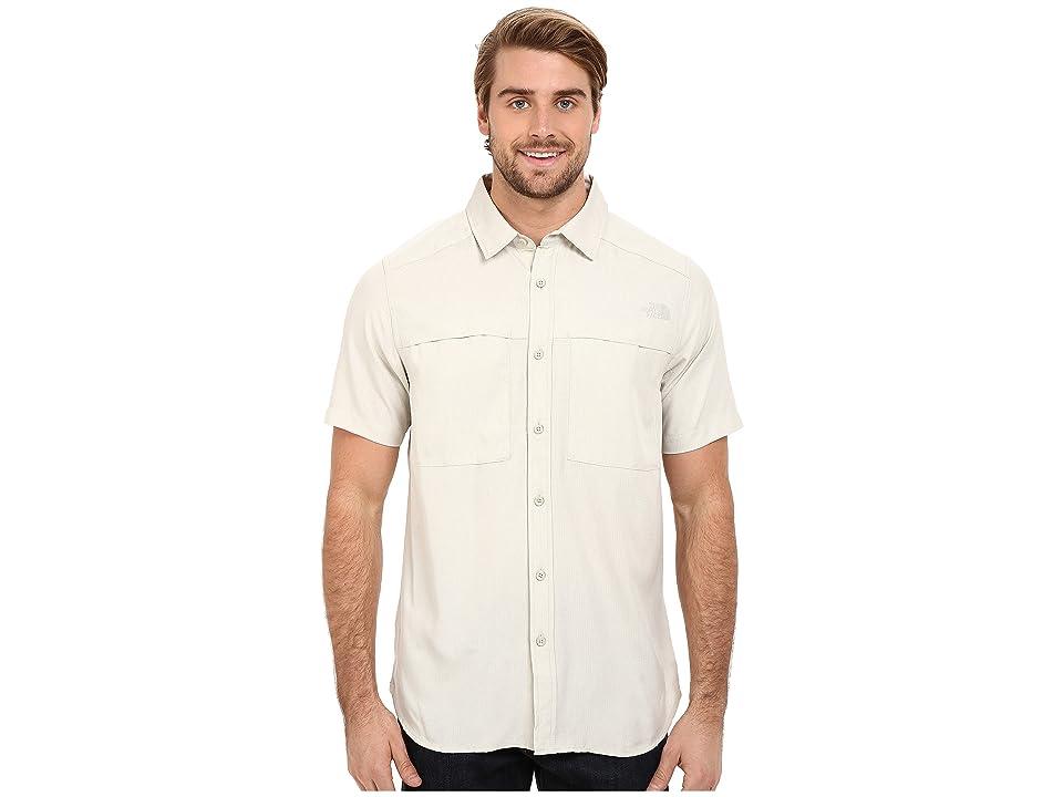 The North Face Short Sleeve Traverse Shirt (Moonstruck Grey Heather (Prior Season)) Men