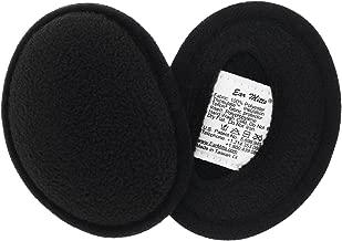 Ear Mitts Bandless Ear Muffs For Men & Women, Soft Fleece Ear Warmers, 2 Sizes