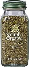 Simply Organic Basil, 0.54 Ounce