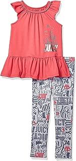 Juicy Couture Girls' 2 Pieces Legging Set