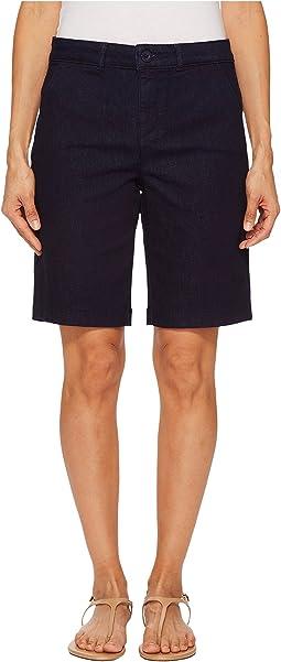 Petite Bermuda Shorts in Rinse