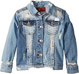 Cropped Denim Jacket (Little Kids)