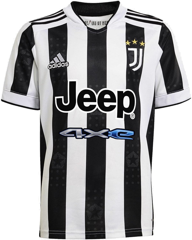 adidas Boy's Juventus 2021-22 Home Jersey