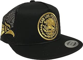 Hat San Luis Potosí 3 Logos 2 Aguilas doradas A Los Lados Mesh