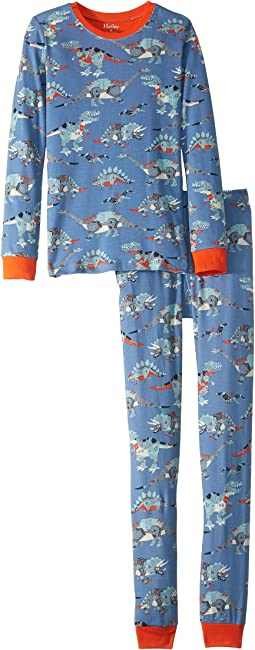 Robotic Dinos Organic Cotton Pajama Set (Toddler/Little Kids/Big Kids)