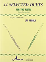 44 Selected Duets for Two Flutes - Book 1: Easy/Intermediate