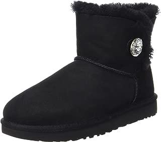 UGG Women's Mini Bailey Button Bling Winter Boot