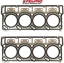 FEL-PRO Head Gaskets compatible with 2003-07 Ford 6.0L 6.0 Powerstroke Diesel Turbo Engines with 18mm head dowels (2 Head Gaskets)