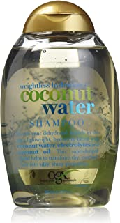 OGX Weightless Hydration + Coconut Water Shampoo, 13 Ounce Bottle,  , Lightweight..