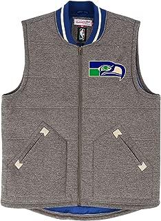 Mitchell & Ness Seattle Seahawks NFL Victory Premium Throwback Vest Men's Jacket
