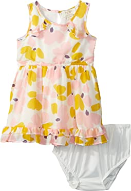Kate Spade New York Kids - Ruffle Hem Dress Set (Infant)