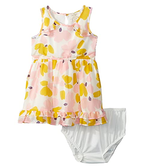 Kate Spade New York Kids Ruffle Hem Dress Set (Infant)
