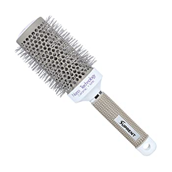SUPRENT Nano Thermal Ceramic and Ionic Round Barrel 2 Inch Hair Brush