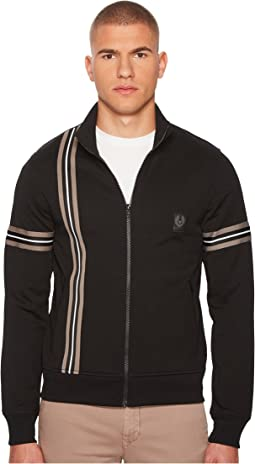 BELSTAFF Helmsdale Technical Poly Cotton Interlock Zip-Up