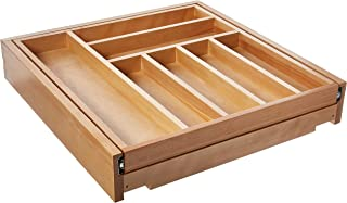 Rev-A-Shelf Tiered Cutlery Only Drawer Organizers, Natural