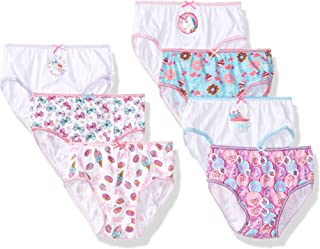 28d0cf0978d8 Nickelodeon Little Girl's 7-Pack JoJo Siwa Bikini Brief Underwear