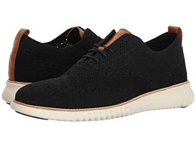 Cole Haan 2. Zerogrand Stitchlite OX (Black/Ivory) Men