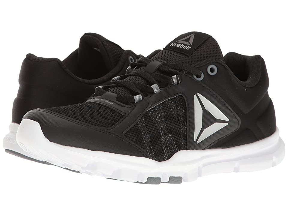 Reebok Yourflex Trainette 9.0 MT (Black/White/Asteroid Dust/Silver Metallic/Grey) Women