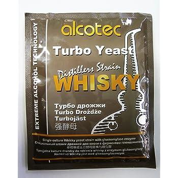 TURBO levadura - XXL - diseño de bebidas alcohólicas con de alta/espíritu levadura/Vodka levaduras/licor/medidor de Alcohol: Amazon.es: Hogar