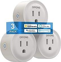 Smart Plug Homekit 3Pack,Support Apple HomeKit,Apple Siri,Alexa,Google Assistant,Homepod,Apple TV,Tuya Smart,SmartThings &...