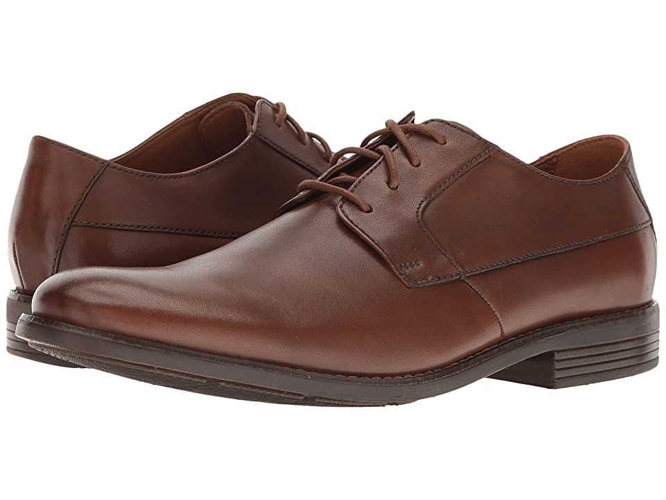 Clarks Becken Plain (Tan Leather) Men