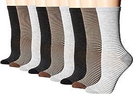 Stripe Crew Socks - 3 pack