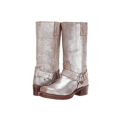Frye Harness 12R (Silver Multi Brushed Metallic) Women