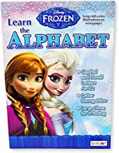 Disney Frozen Learn The Alphabet Workbook