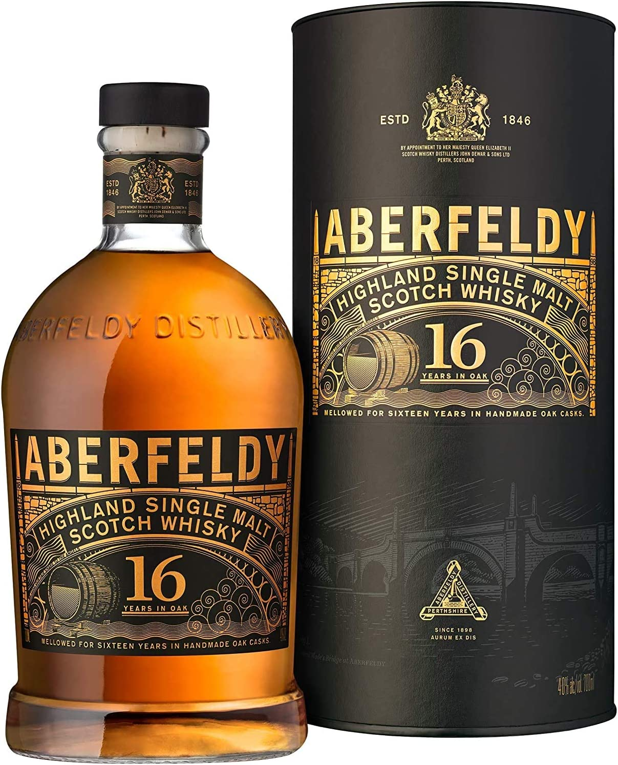 Aberfeldy Highland Single Malt Whisky 16 Jahre