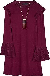 Best bell sleeve dresses cheap Reviews