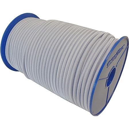 15m GUMMISEIL 10mm Expanderseil ROT Gummischnur Gummikordel Gummiseile Spannseil Planenseil Gummileine Seil Plane Netz