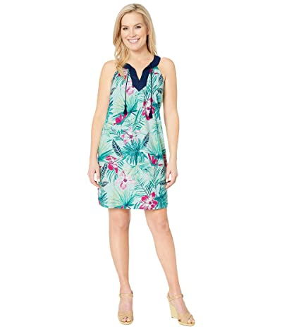 Tommy Bahama Kayo Blossoms Sundress (Blue Orchid) Women