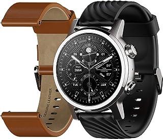 Reloj inteligente Moto 360 de 3ª generación, con banda de 0.787 in, duración de la batería de 36 horas y protección de pantalla con revestimiento PVD y DLC.