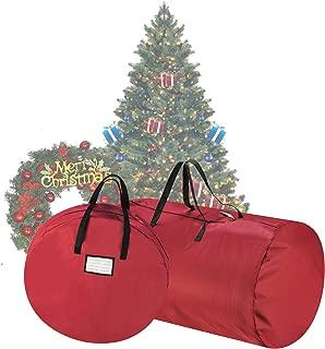 Tiny Tim Totes 83-DT5529 5086 Premium Red Canvas Christmas Tree Storage 30