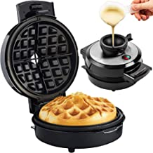 Andrew James Volcano Waffle Maker for Deep Belgian Waffles | Easy to Use No Mess Waffle Machine with Non-Stick Plates | Exclusive Award Winning Design