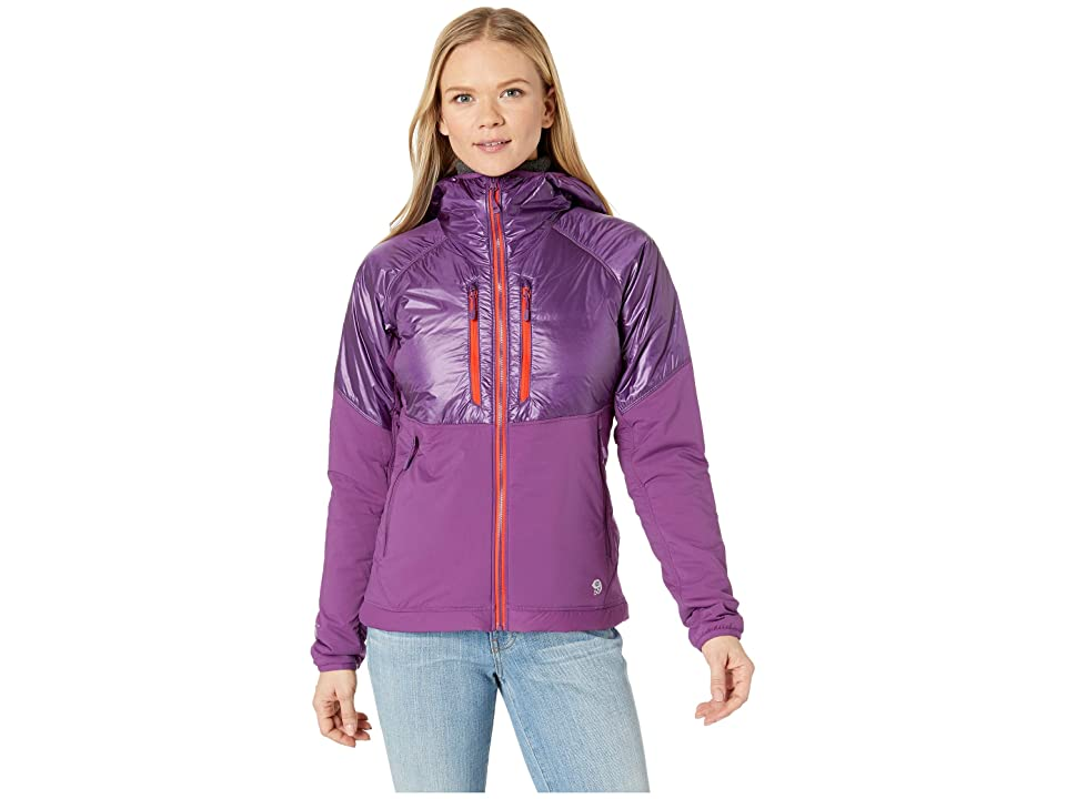 Mountain Hardwear Aostatm Hooded Jacket (Cosmos Purple) Women