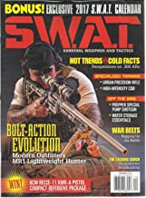 S.W.A.T. SURVIVAL WEAPONS AND TACTICS, DECEMBER, 2016 EXCLUSIVE 2017 CALENDAR