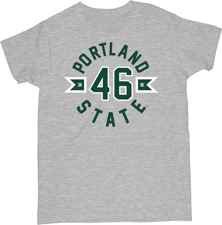 Venley Official NCAA Portland State Vikings 46 Womens T-Shirt 19POR03