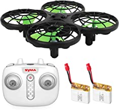 AICase Syma Drone X26 Mini RC Quadcopter with Remote,4 Channels Quadcopter, 2.4G Drone with 6-axis,Height Hold IR Obstacle Avoidance 3D Stunt Fr Kids Boy and Girl with Led Light