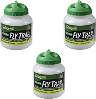 RESCUE! FTR Reusable Fly Trap - 3 Pack