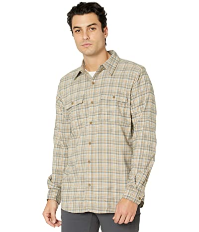 ExOfficio BugsAway(r) Kempsey Lightweight Flannel Long Sleeve (Scotch) Men