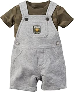 Carter's Baby-Boys 2 Piece Shortall Set 121g352
