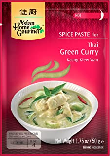 Asian Home Gourmet: Thai Green Curry 1.75 oz (Pack of 12)