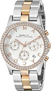 Marc Jacobs Women's Henry Watch Quartz Mineral Crystal MBM3106