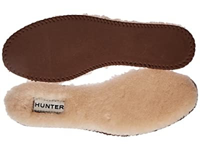 Hunter Luxury Shearling Insoles (Natural) Women