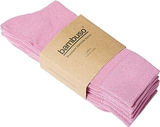Bambuso Bamboo Socks 3-Pack. Men's and Women's Super Soft, Premium Luxury Socks