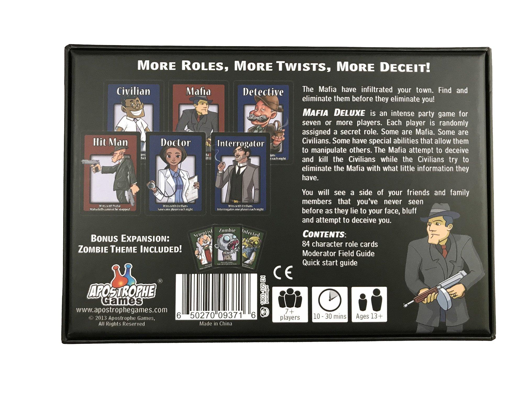 Apostrophe Games Mafia del Juego de Mesa Edición: Amazon.es: Juguetes y juegos