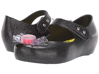Mini Melissa Ultragirl Trick or Treat BB (Toddler/Little Kid) (Black/Gold) Girls Shoes